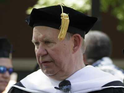 Kennedy receives honorary doctorate