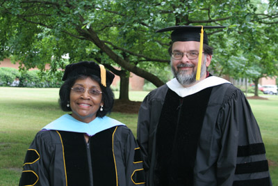 Dr. Bettie Willingham and Dr. Alan Lane