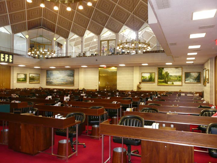 J. Chris Wilson's paintings in the N.C. House chamber