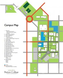 Parking Detour Map
