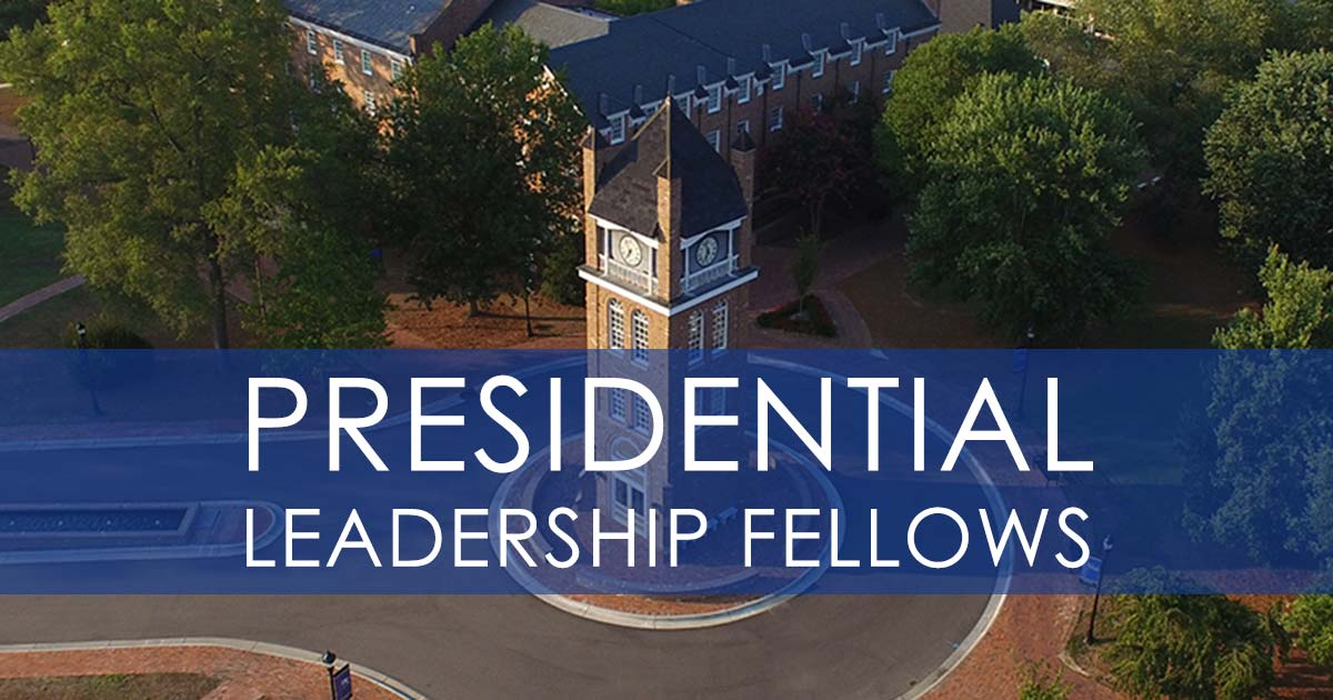 Presidential Leadership Fellows logo - Photo of Bell Tower